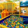 Сухой бассейн для детей в центре Гиппо