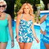 Пляжная мода для женщин с пышными формами