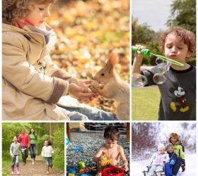 Чем занять ребенка на прогулке?