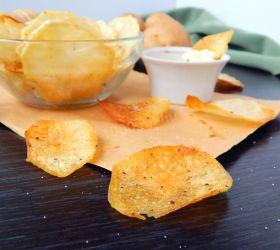 Хрустящие чипсы в домашних условиях